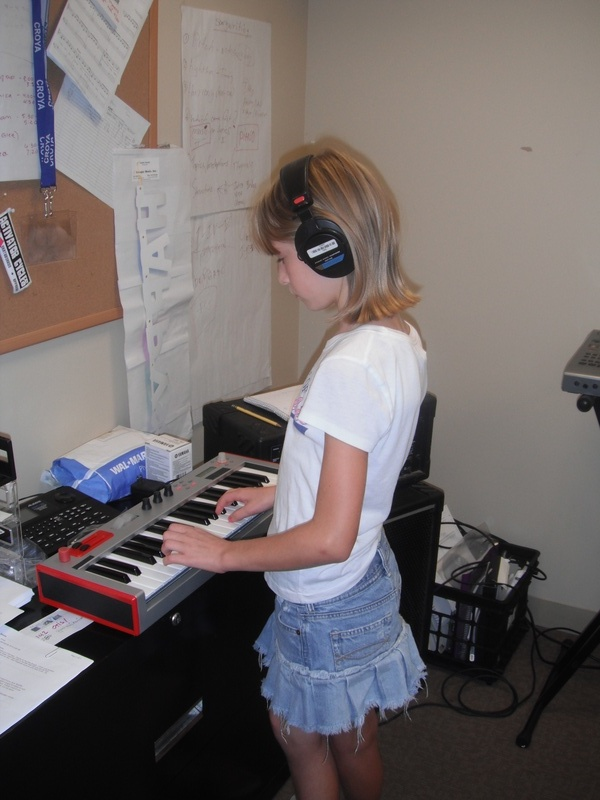 Songwriting Class using electronica!